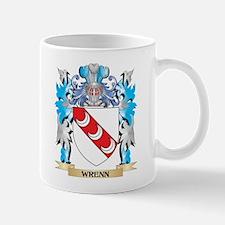 Wrenn Coat of Arms - Family Crest Mugs