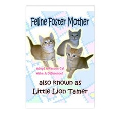 Feline Foster Mom Postcards (Package of 8)