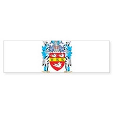 Wyatt Coat of Arms - Family Crest Bumper Bumper Sticker