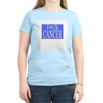 'F*CK CANCER' Women's Light T-Shirt