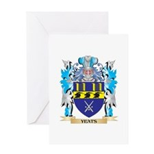 Yeats Coat of Arms - Family Crest Greeting Cards