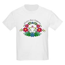 Best Stepmom Flower T-Shirt