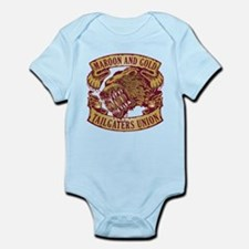 Maroon and Gold Tailgaters Union Body Suit