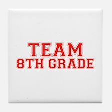 Team 8th Grade Tile Coaster