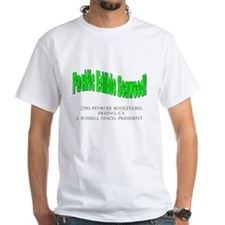 White Pacfic Edible Seaweed Mad World T-Shirt