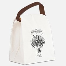 Vintage French Garden Canvas Lunch Bag