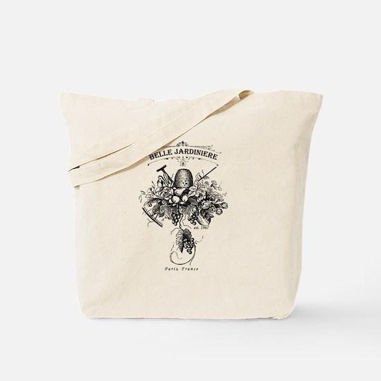 Vintage French Garden Tote Bag