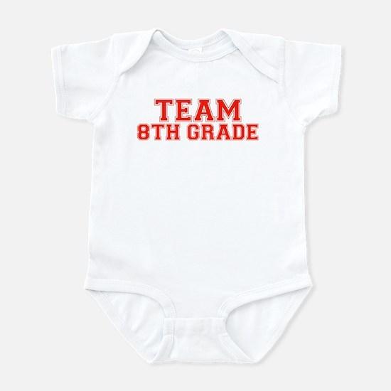 Team 8th Grade Infant Bodysuit