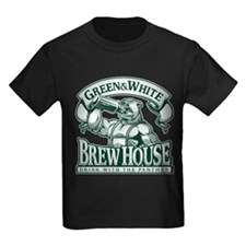 Green and White Brew House T-Shirt