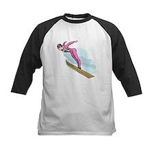 Ski Jumper Baseball Jersey