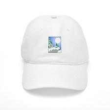 Double Black Diamond Hill Baseball Baseball Cap