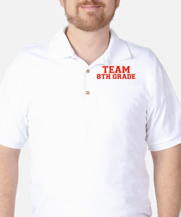 Team 8th Grade Golf Shirt