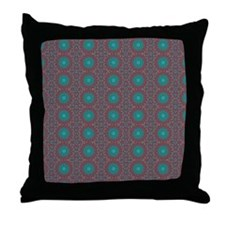 TURQUOISE TRAIL Throw Pillow