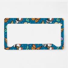 Follow the Butterflies License Plate Holder