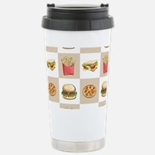 Food Tiles Travel Mug