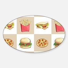 Food Tiles Decal