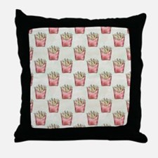 Extra Fries Throw Pillow