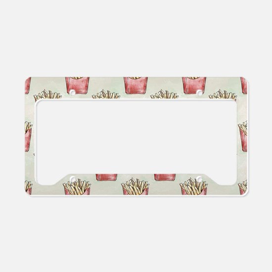 Extra Fries License Plate Holder