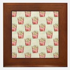 Extra Fries Framed Tile