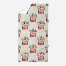 Extra Fries Beach Towel