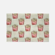 Extra Fries Rectangle Magnet
