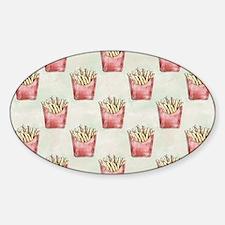 Extra Fries Sticker (Oval)