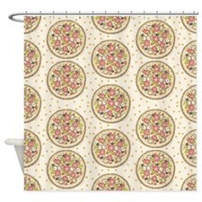 Pizza Premise Shower Curtain