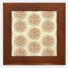 Pizza Premise Framed Tile