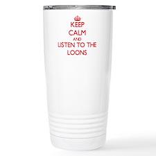 Cute Loons Travel Mug