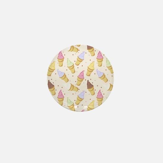 Cone Crowd Mini Button