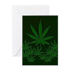 Marijuana / Weed Design Greeting Cards
