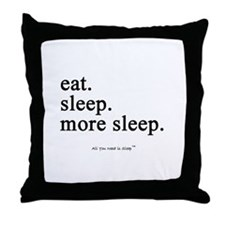 Cute All i need Throw Pillow
