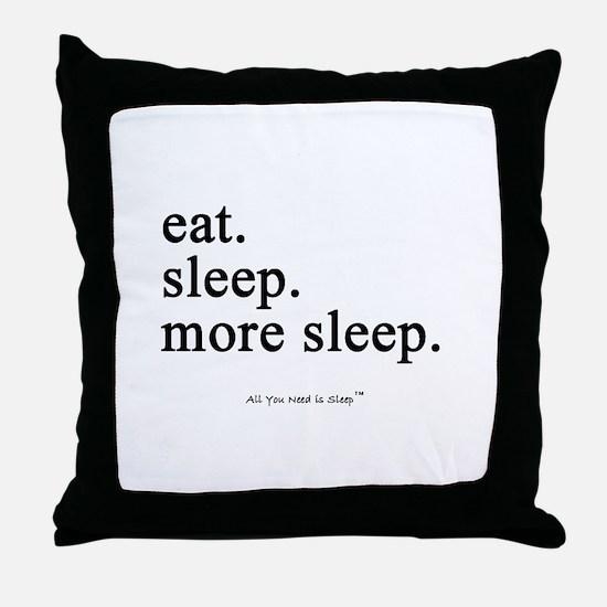 Cute Couch potato Throw Pillow