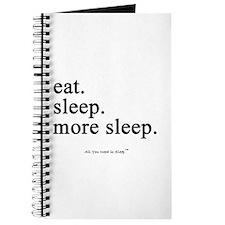 Cute Nap Journal