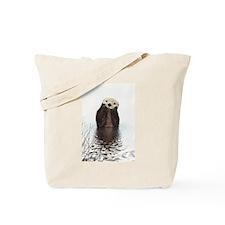 Bashful Sea Otter Tote Bag