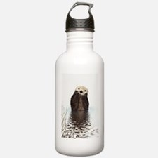 Bashful Sea Otter Water Bottle