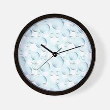 Bubble Sphere Wall Clock
