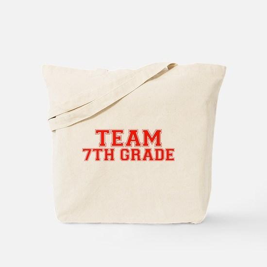 Team 7th Grade Tote Bag