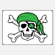 Irish Pirate Banner
