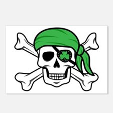 Irish Pirate Postcards (Package of 8)