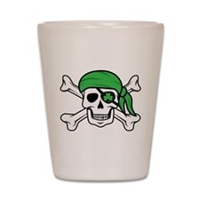 Irish Pirate Shot Glass