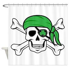 Irish Pirate Shower Curtain