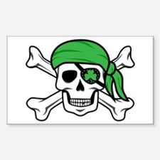 Irish Pirate Decal