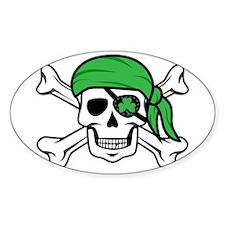 Irish Pirate Decal