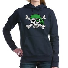 Irish Pirate Women's Hooded Sweatshirt