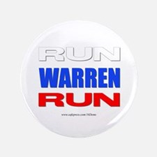"""Run Warren Run Rwb 3.5"""" Button"""