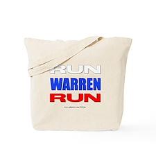 Run Warren Run RWB Tote Bag