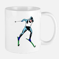 Cross Country Skier Mugs