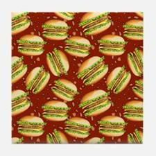 Burgers Baby Tile Coaster