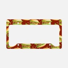 Burgers Baby License Plate Holder
